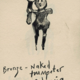 Naked trumpeter